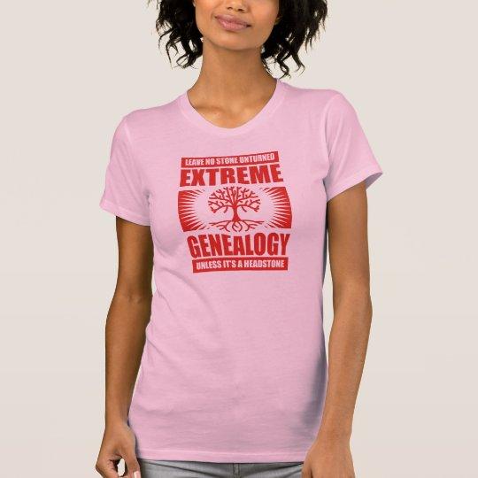 Extreme Genealogy - No Stone Unturned T-Shirt