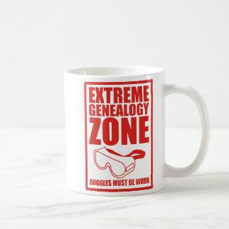 Extreme Genealogy Zone Classic White Coffee Mug