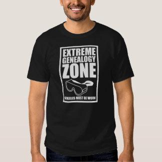 Extreme Genealogy Zone T-shirt