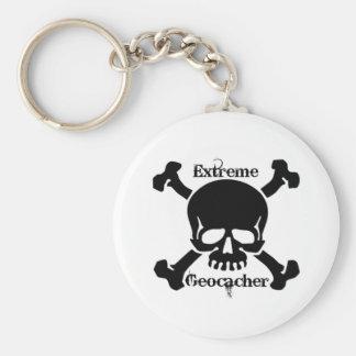Extreme Geocacher Keychain