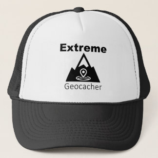 Extreme Geocacher Trucker Hat