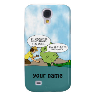 Extreme Geocaching Cartoon Custom Name iphone Case Galaxy S4 Cases