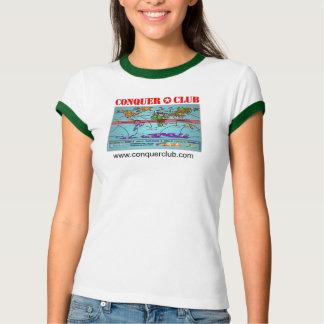 Extreme Global Warming Map Tee Shirt
