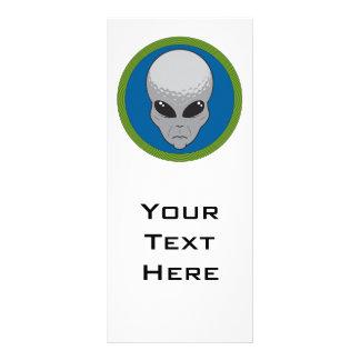 extreme golf alien head rack card