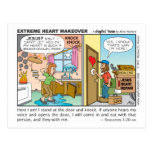 Extreme Heart Makeover postcard