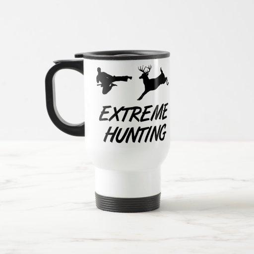 Extreme Hunting Karate Kick Deer Mugs