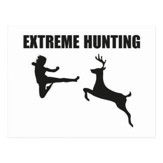 Extreme Hunting Postcard