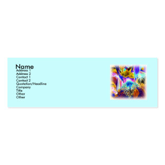 Extreme Iris Profile Card Business Card Templates