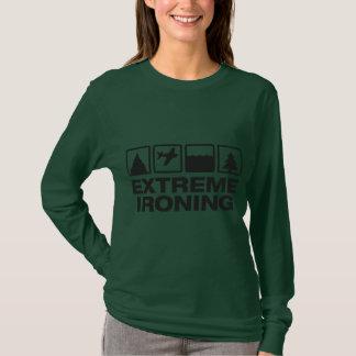Extreme Ironing Lineup 4 Ladies Long Sleeve T-Shirt
