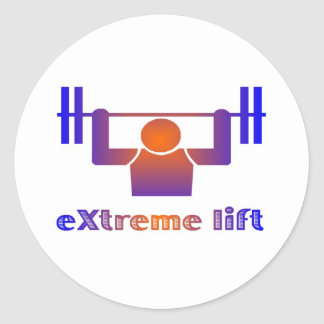 eXtreme lift Classic Round Sticker