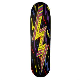 Extreme Lightning Bolt Ride Skateboard