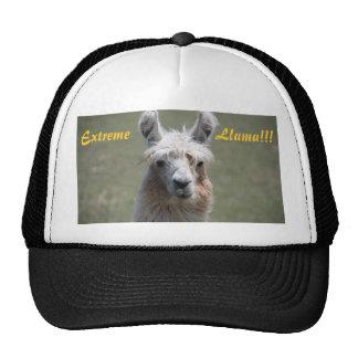 Extreme Llama Cap Trucker Hat