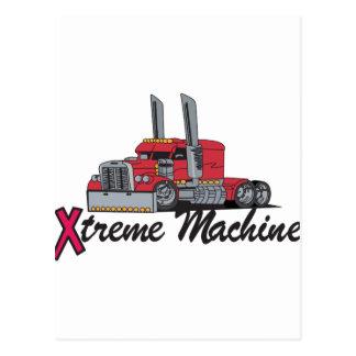 Extreme Machine Postcard