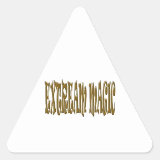 Extreme Magic Triangle Sticker