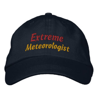 Extreme Meteorologist Storm Chaser Storm Spotter Cap