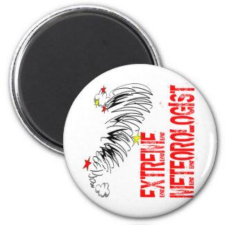 Extreme Meterologist 2 Inch Round Magnet