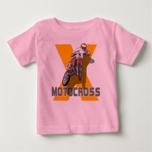 Extreme Motocross Baby T-Shirt