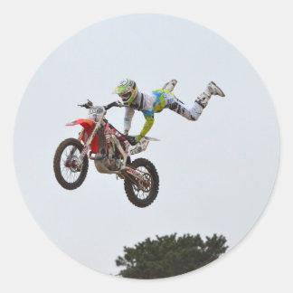 Extreme Motocross Classic Round Sticker
