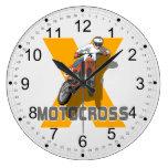 Extreme Motocross Clock