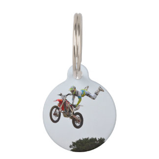 Extreme Motocross Pet Tags