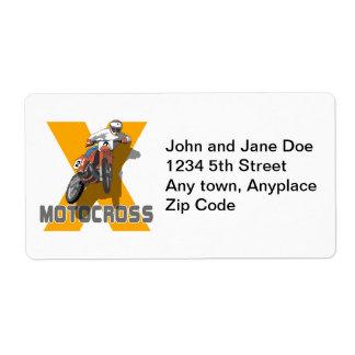 Extreme Motocross Label
