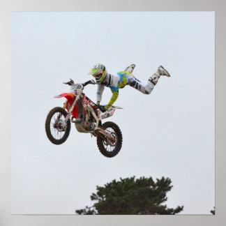Extreme Motocross Print