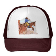 Extreme Mule Riding Mesh Hat