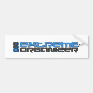 Extreme Organizer Gear! Bumper Sticker