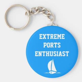 Extreme Ports Enthusiast Keychain