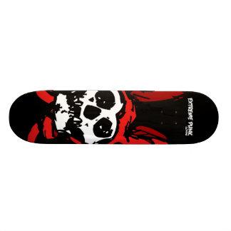 Extreme Punk Rabbit Skull Skateboard