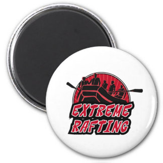 Extreme Rafting 2 Inch Round Magnet