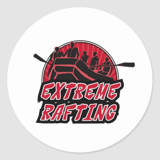 Extreme Rafting Sticker