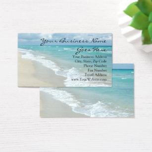 Relaxing business cards templates zazzle extreme relaxation beach elegant spa travel business card reheart Choice Image
