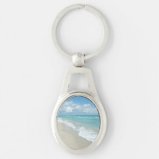 Extreme Relaxation Beach View Keychain