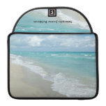 Extreme Relaxation Beach View MacBook Pro Sleeves