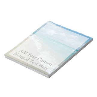 Extreme Relaxation Beach View Notepad