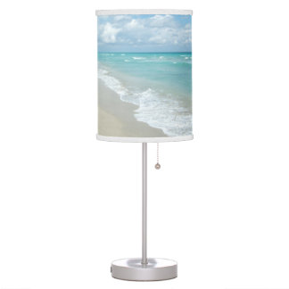 Extreme Relaxation Beach View Ocean Desk Lamp