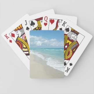 Extreme Relaxation Beach View Playing Cards