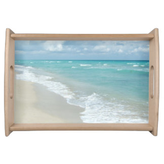 Extreme Relaxation Beach View Serving Tray