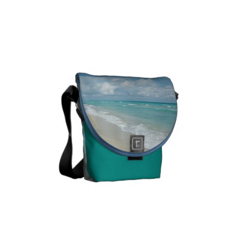 Extreme Relaxation Beach View Shoulder Bag Messenger Bag