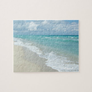Extreme Relaxation Beach View White Sand Puzzle