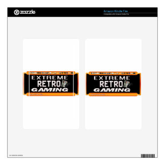 Extreme Retro Gaming Skins For Kindle Fire