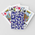 Extreme Skateboarder, snowboarder Camo Bicycle Poker Cards