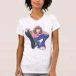 Extreme Skater Girl Shirt
