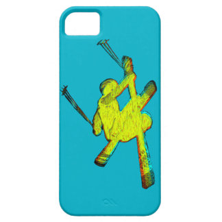 Extreme Skier iPhone 5 Cover