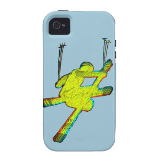 Extreme Skier Vibe iPhone 4 Cases