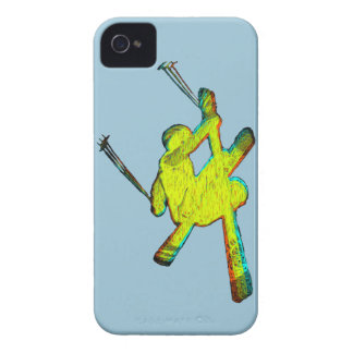 Extreme Skier iPhone 4 Cover