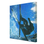 Extreme skiing, canvas prints