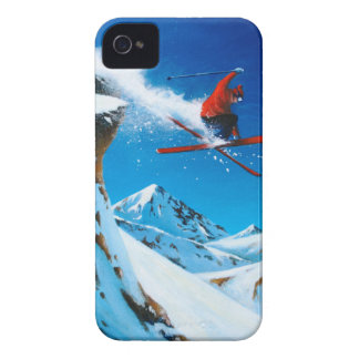 Extreme Skiing iPhone 4 Case-Mate Case