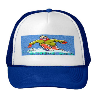 Extreme Skiing Trucker Hat